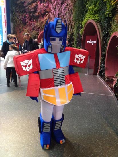 Mascote robot