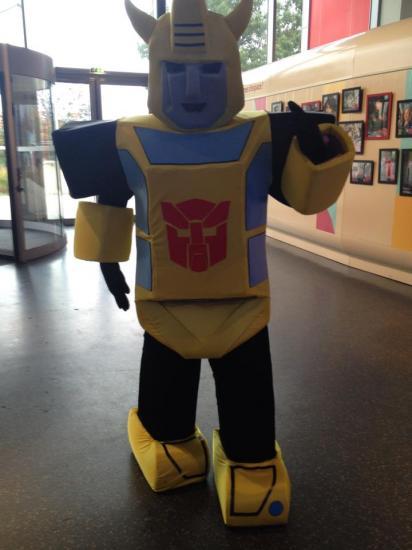 Mascottes robot 2