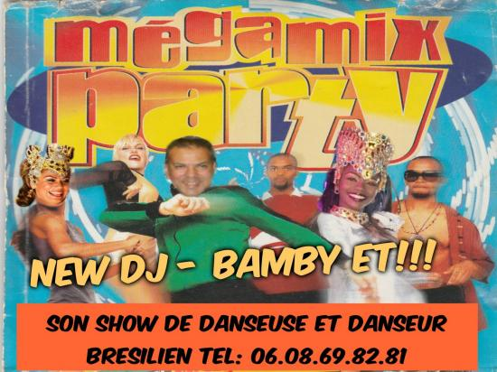 Mega party bamby 1