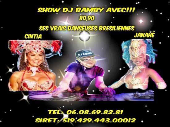 New pub dj bamby et ses danseuses